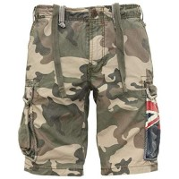Jet Lag Cargo Shorts SO16-22 Army Green Camouflage Australien